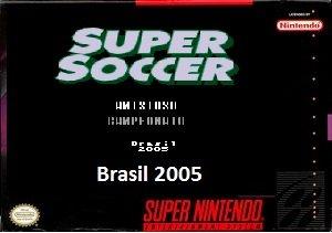 Super Soccer Brasil 2005 snes rom hack