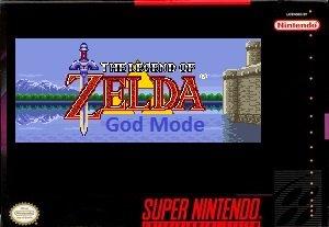 Zelda 3 God Mode snes rom hack
