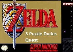 Zelda 3 Puzzle Dudes Quest snes rom hack