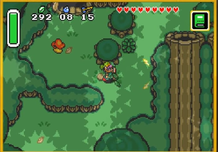 Link To The Past Light World Map.Zelda A Link To The Past Master Quest Snes Rom Hack Download
