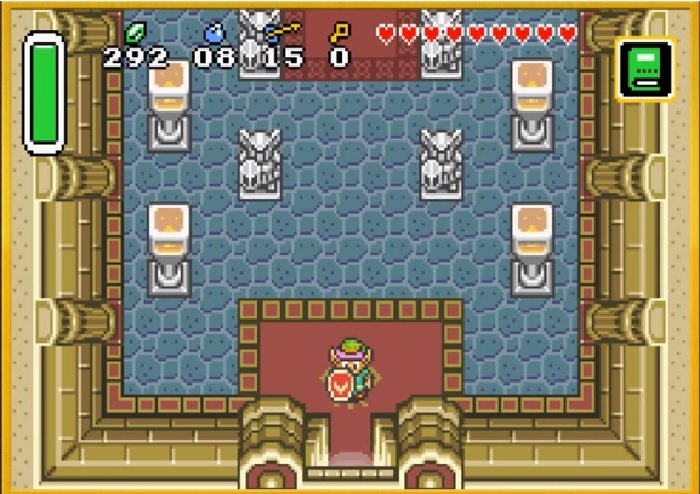 Zelda A Link to the Past Master Quest (SNES) Rom Hack Download