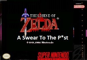 Zelda A Swear To The P st SNES Rom Hack
