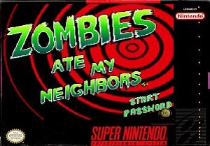 Zombies Ate My Neighbors Dr Tongue's Revenge snes rom hack