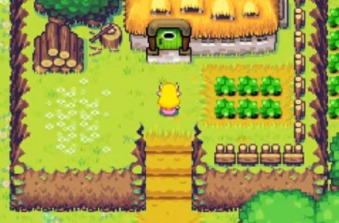 Minish Cap Zelda (SNES) Rom Hack Download