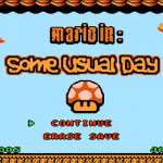 Mario In Some Usual Day