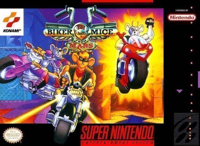 Biker Mice from Mars snes Cheats