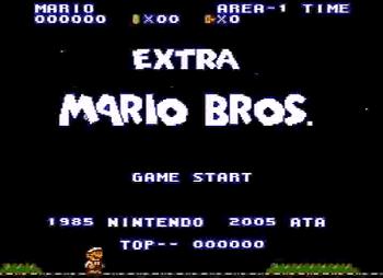Extra Mario Bros Nes Rom Hack