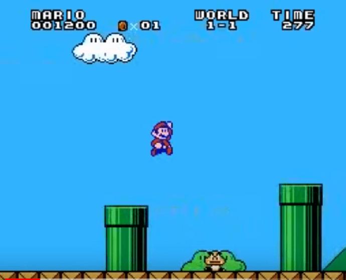 Super Mario Bros DX Gameplay