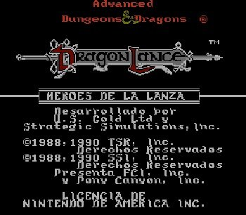 Advanced-Dungeons-Dragons-Heroes-of-the-Lance-Nes-Rom-Hack
