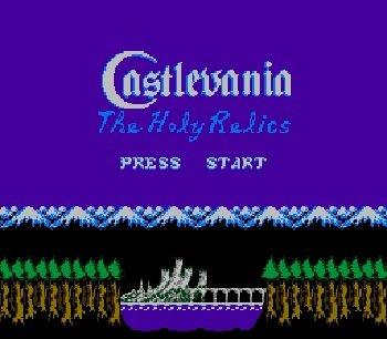 Castlevania-The-Holy-Relics-nes-rom-hack