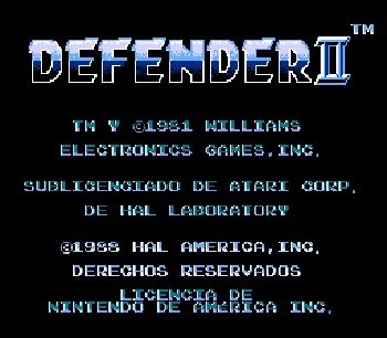 Defender-2-Nes-Rom-Hack