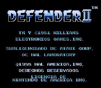 Defender-2-Nes-Rom-Hack