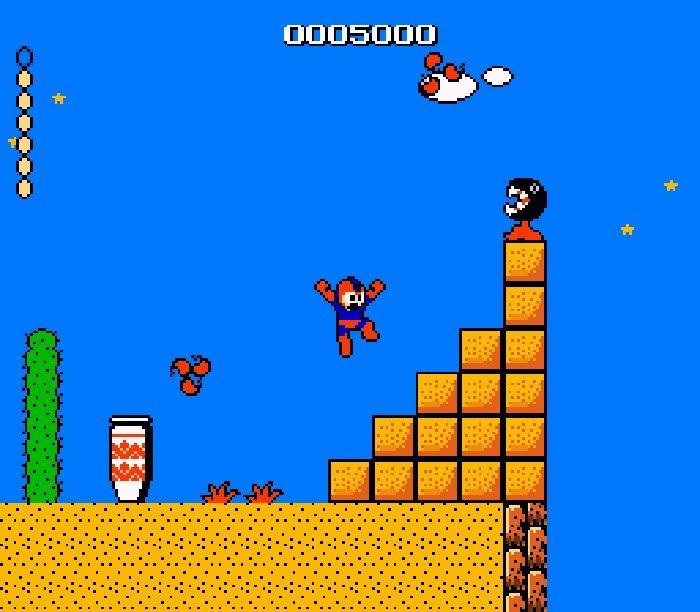 Mega Man in the Mushroom Kingdom (NES) Rom Hack [Download]