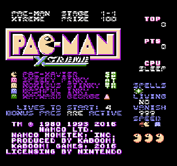 PacMan-Xtreme-nes-rom-hack