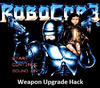 Robocop-3-Weapon-Upgrade-Hack-nes-rom-hack
